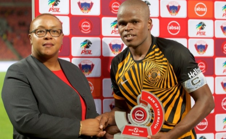 Katsande's delight in being a Kaizer Chiefs player