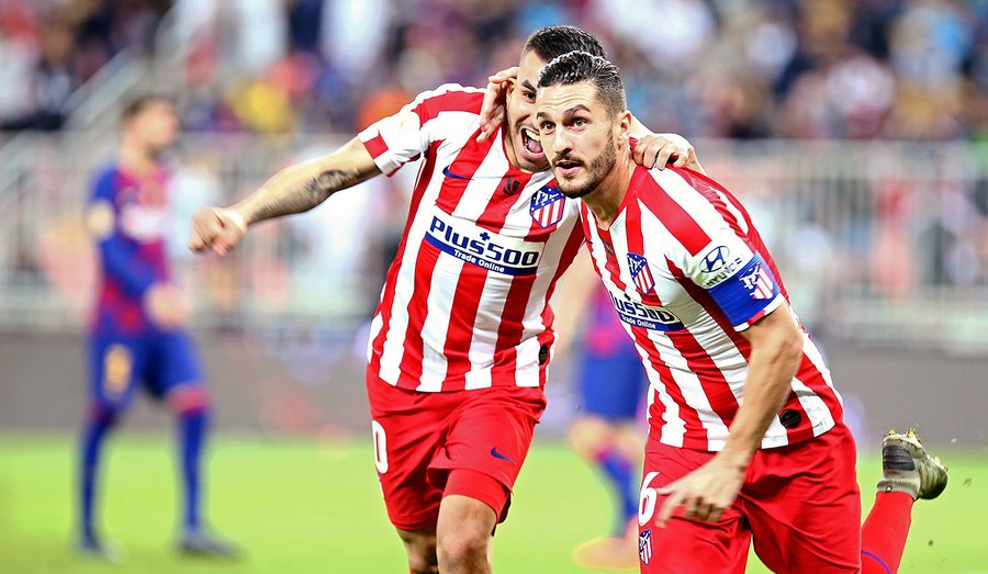 Atletico stun Barcelona to set up all Madrid Super Cup final
