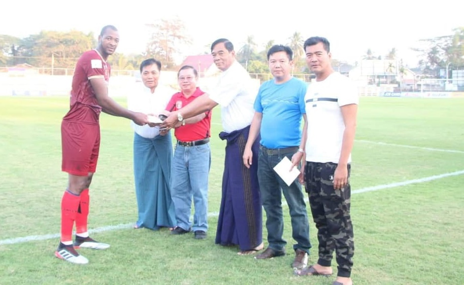 Kamhuka named M.O.T.M in his side first league win