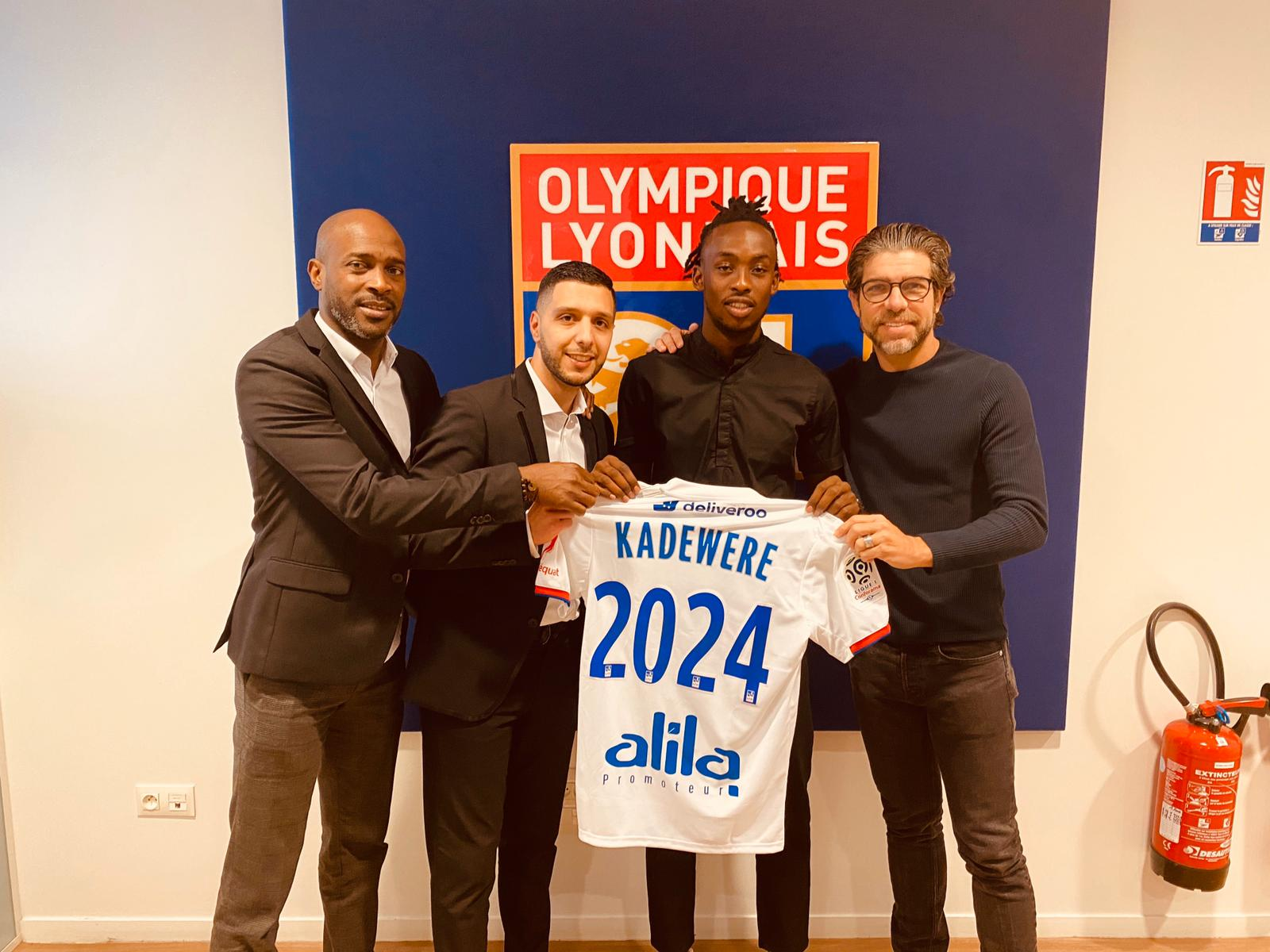 Lyon unveil Tino Kadewere - soccer24.co.zw