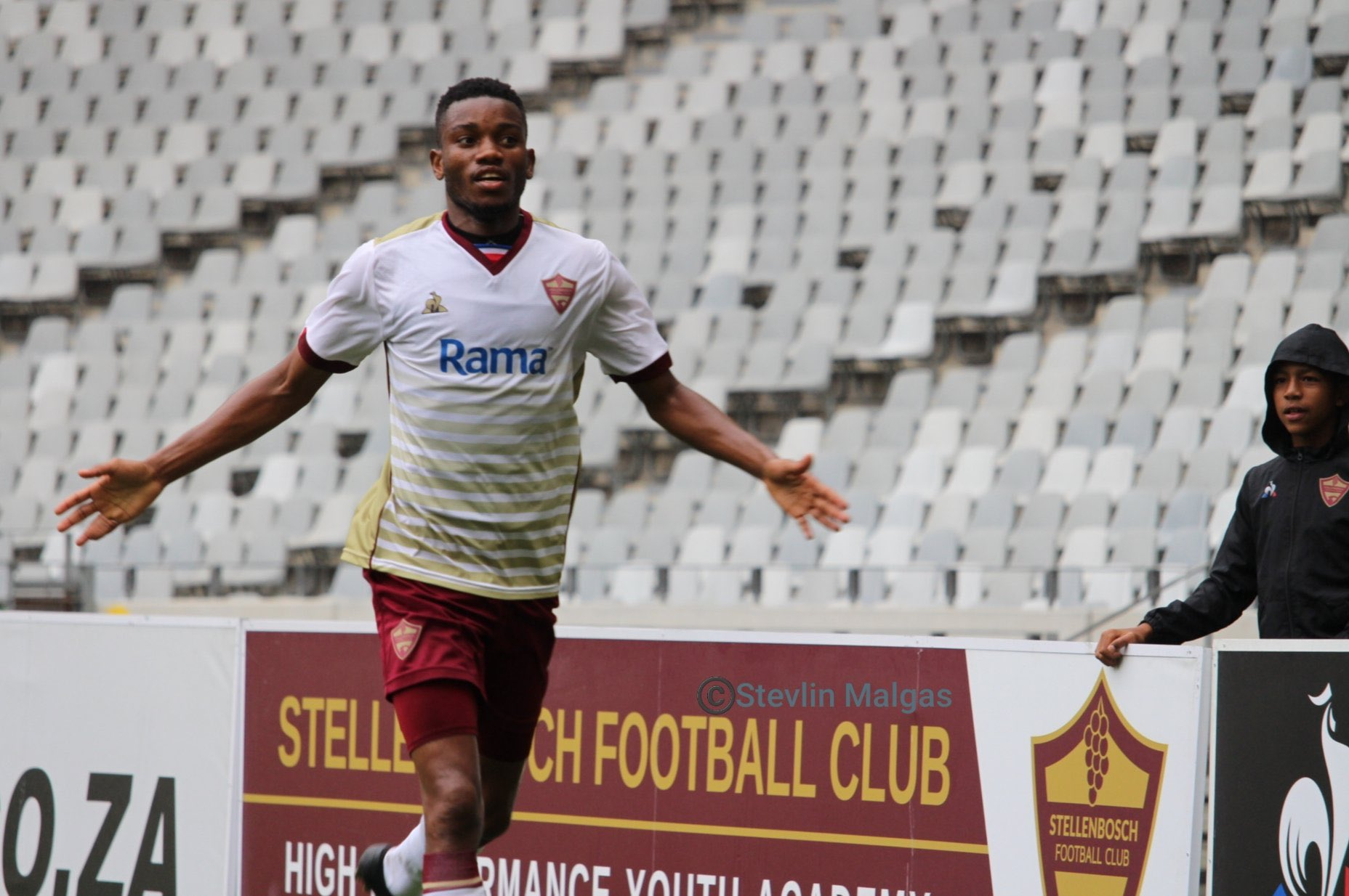 Pumped-up Karuru fulfills promise to Stellenbosch coach - soccer24.co.zw
