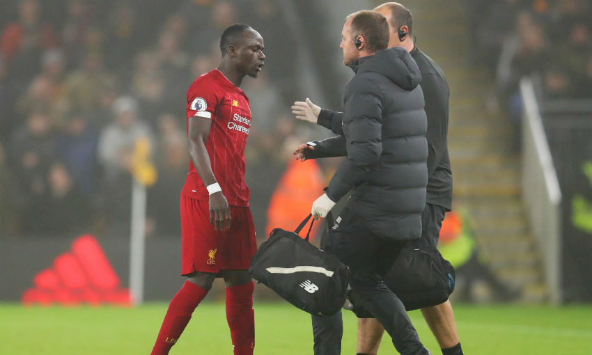 Klopp speaks on Mane injury