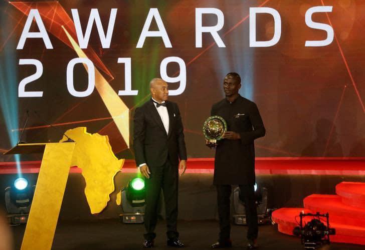 Sadio Mane named CAF best player in 2019