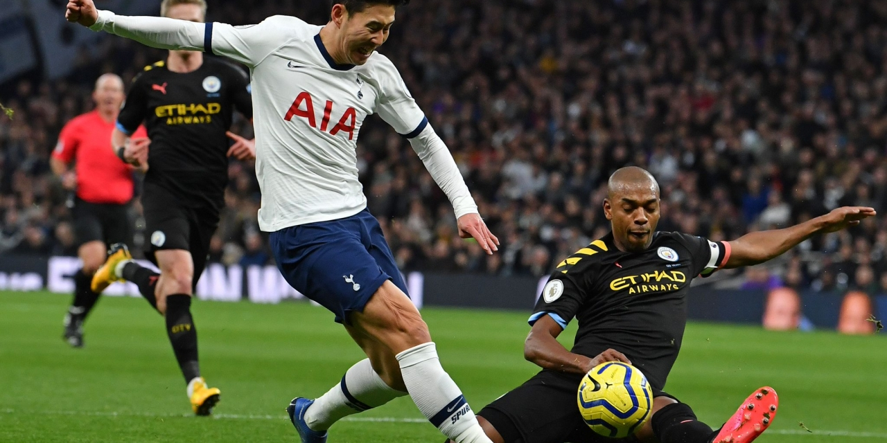 Tottenham beat Man City, Liverpool 22 points clear