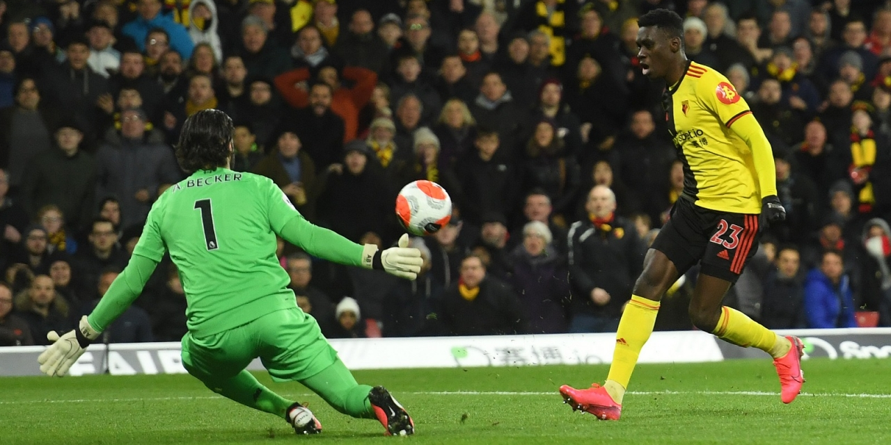 Breaking: Watford hand Liverpool first Premier League defeat