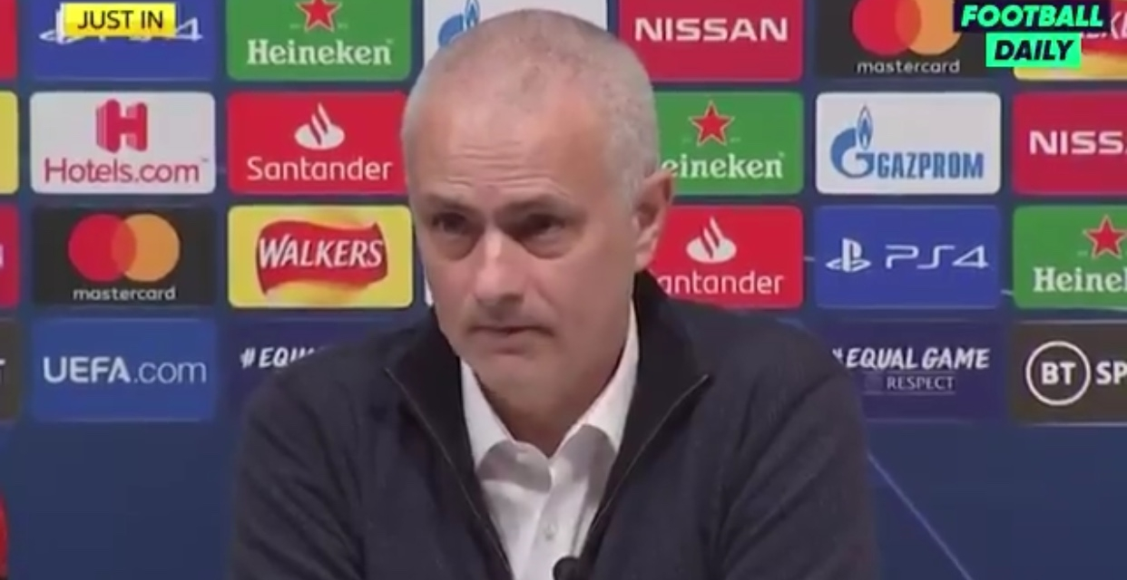 He was angry with with his performance, not with me: Mourinho on Dele Alli's reaction