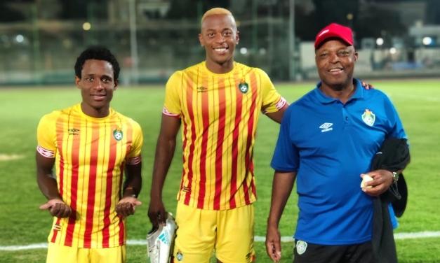 Retired Chidzambwa's salutations from Warriors stars