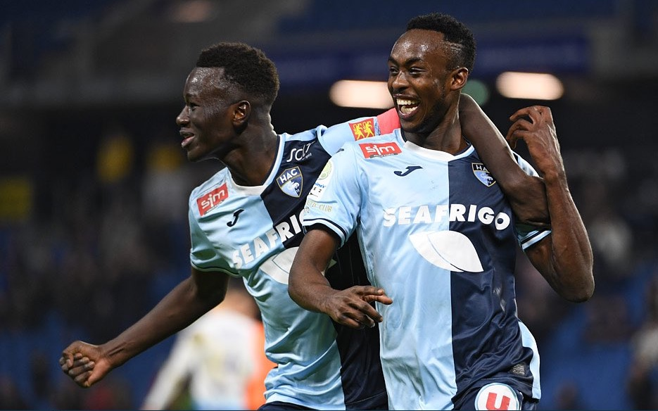 Kadewere's 20th goal of the season secures crucial win for Le Havre