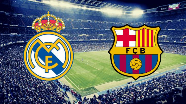 Real Madrid vs Barcelona-Action as it happened