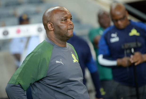 Mosimane takes a swipe at Chipezeze after Sundowns' loss to Baroka