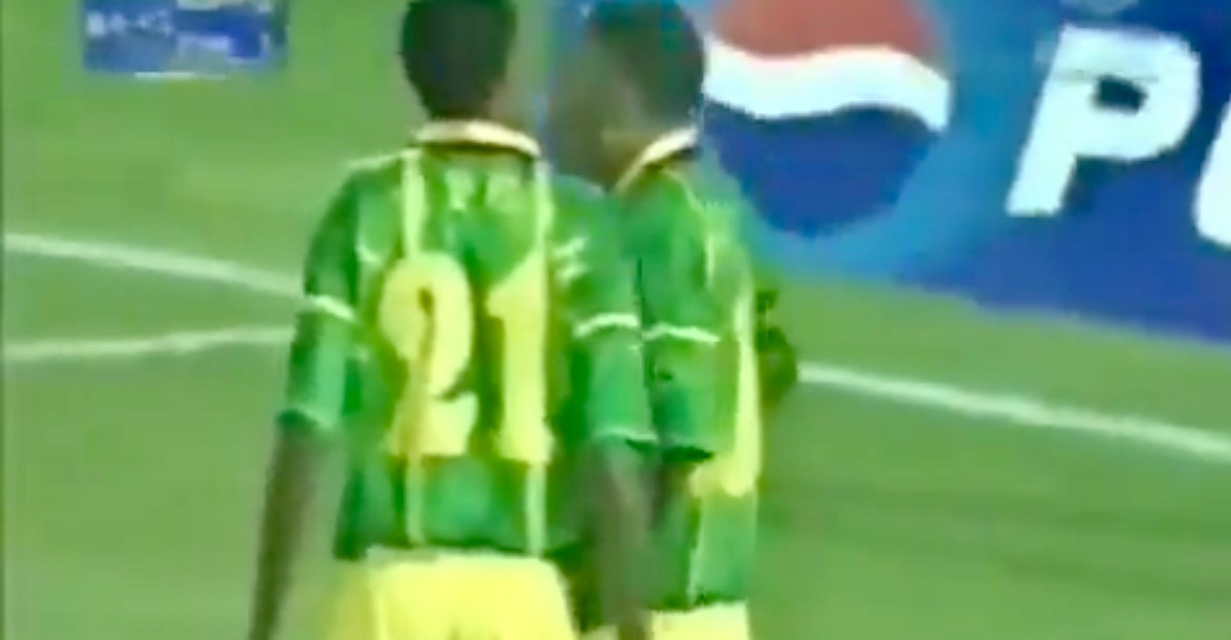 Video: Wilfred Mugeyi's shocking miss at AFCON 2004
