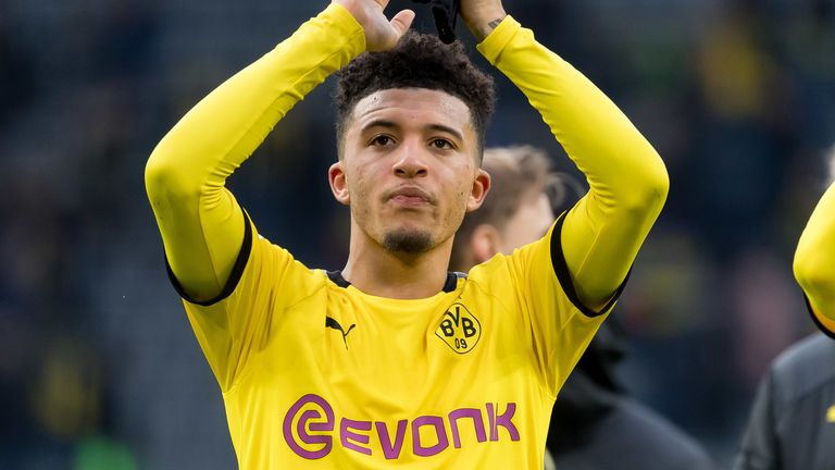 Man Utd close to signing Jadon Sancho