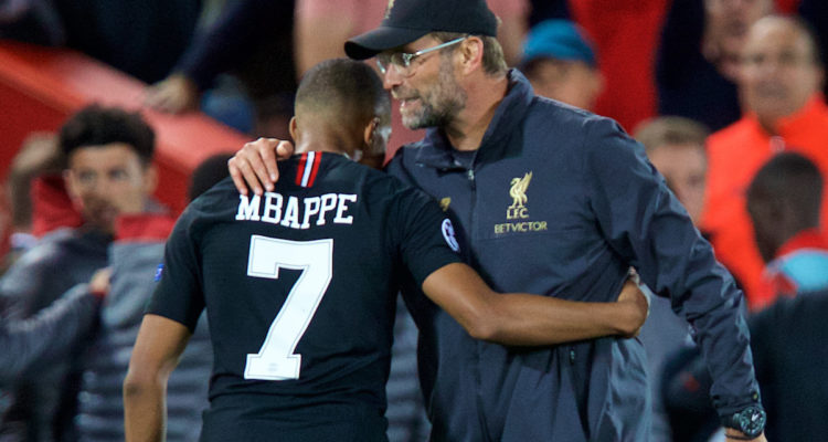 Mbappe showers Liverpool with praise amid transfer talks