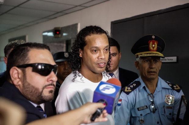Fellow inmates left in tears after Ronaldino release, throw him farewell barbecue