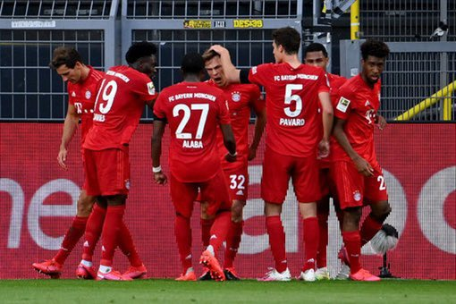 Kimmich's platinum touch the difference as Bayern edge Dortmund