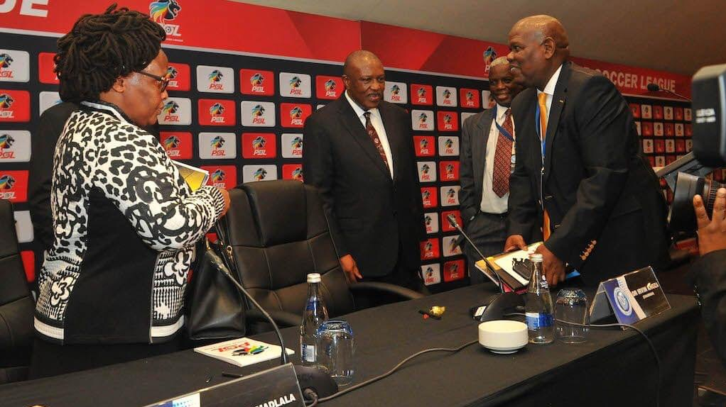 S.A PSL in talks with Sports minister over league resumption