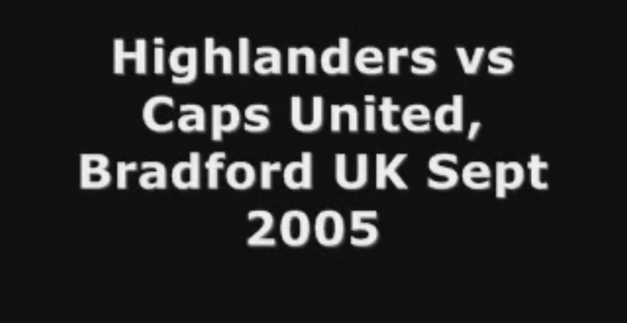 Video: Rare footage of Highlanders vs CAPS United in the UK