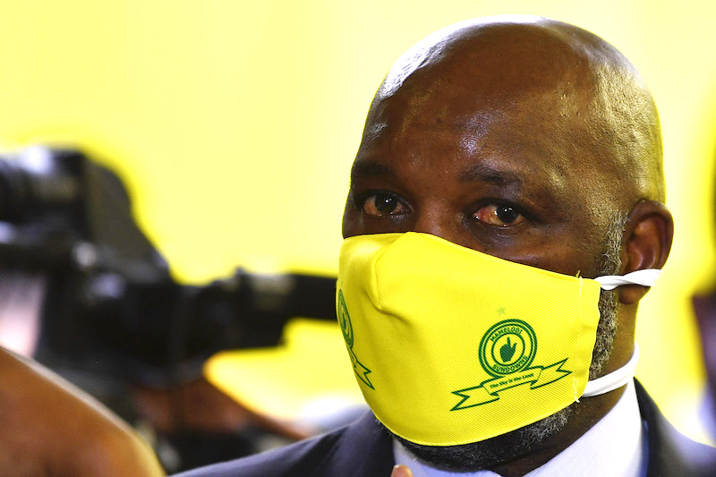 Mosimane outlines 'suggestions' for ABSA Premiership resumption