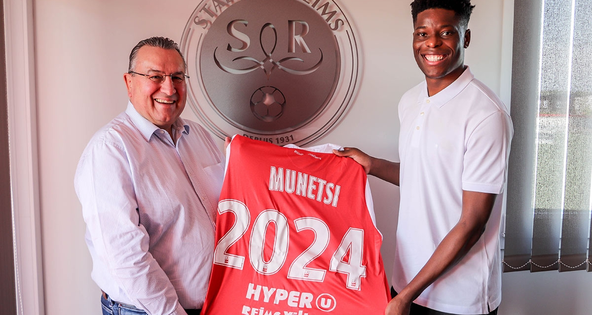 Munetsi signs new deal with Stade de Reims