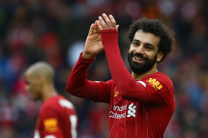 Salah laughs off Liverpool exit talks