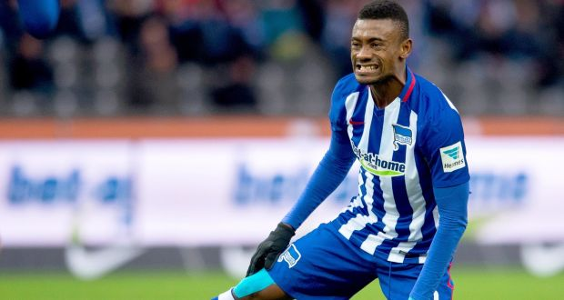 Salomon Kalou suspended by Hertha Berlin over handshake video