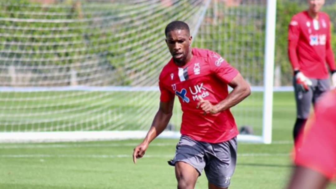 Darikwa resumes training at Nottingham Forest