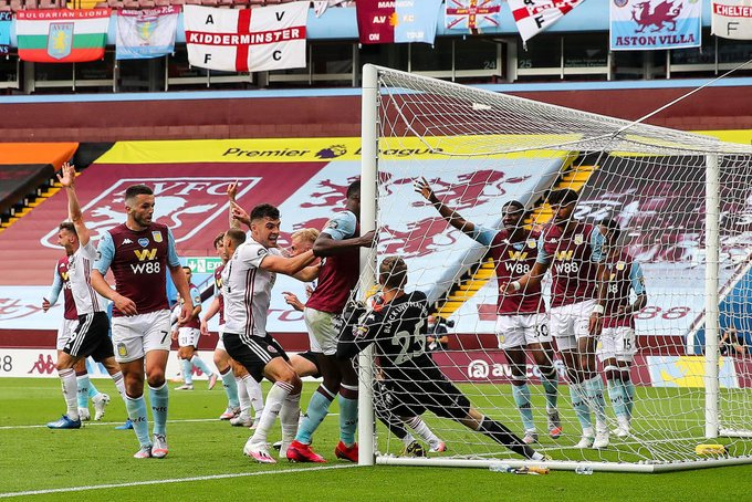 Goal line technology operator apologizes for error during Villa-Sheffield clash