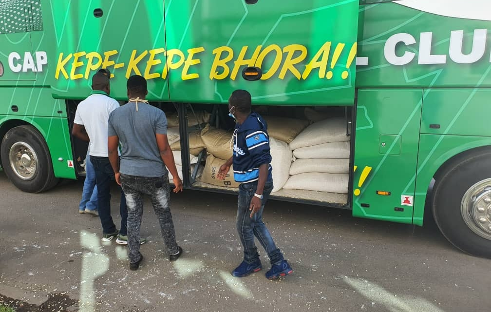 Explained: Why CAPS United team bus was loaded with maize