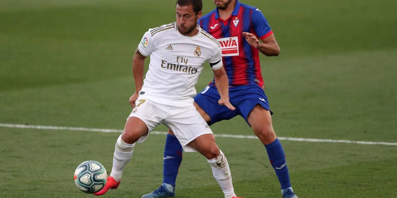 Zinedine Zidane delivers positive update on Eden Hazard after injury 'scare'