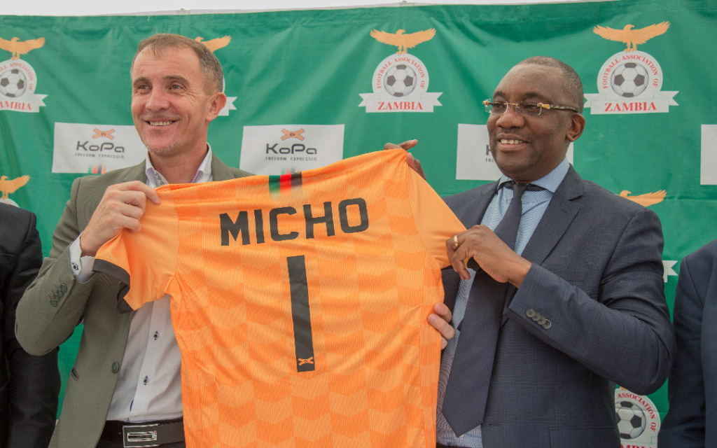 Micho's contract still to be formalised by Zambian Govt.