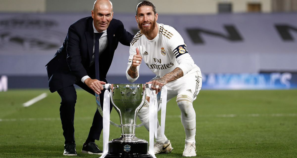 Ramos hails Zidane after Real Madrid LaLiga triumph