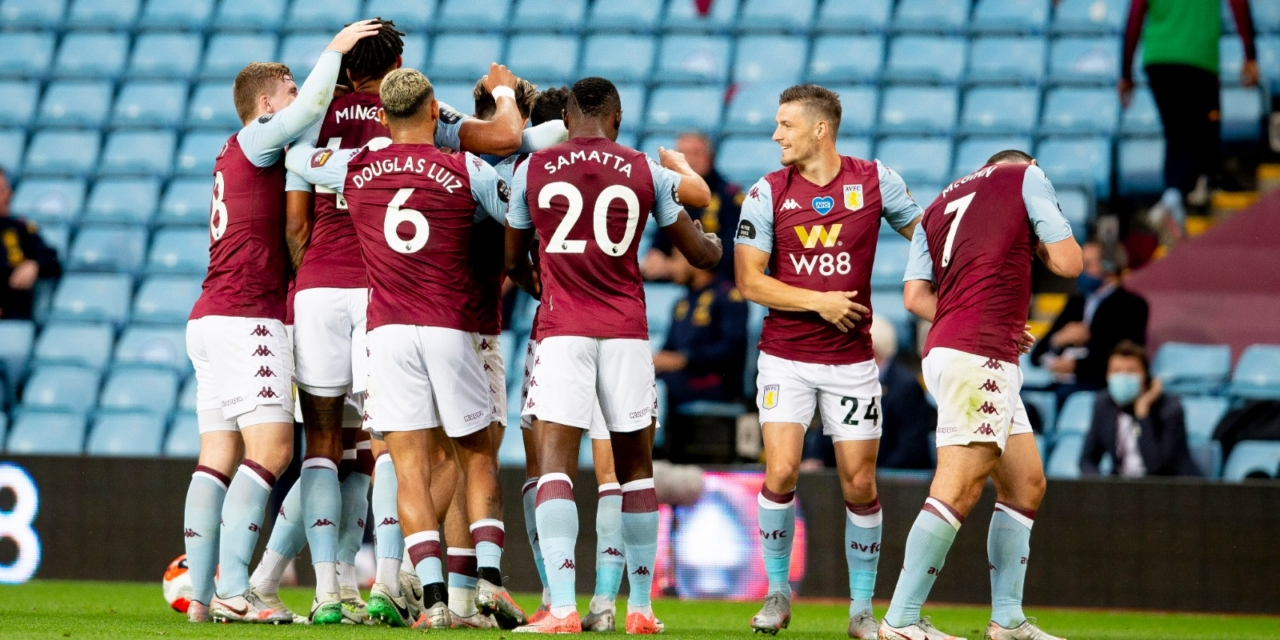 Aston Villa leap out of the relegation zone