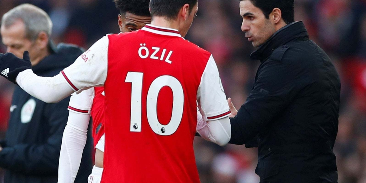 Ozil's big wages will never influence his selection: Mikel Arteta