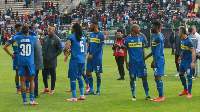 Cape Town City become first SA PSL club to return to training