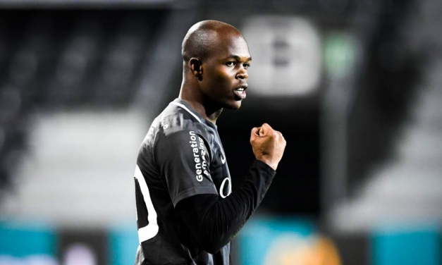 Musona played in 'unfamiliar' position in Eupen's draw