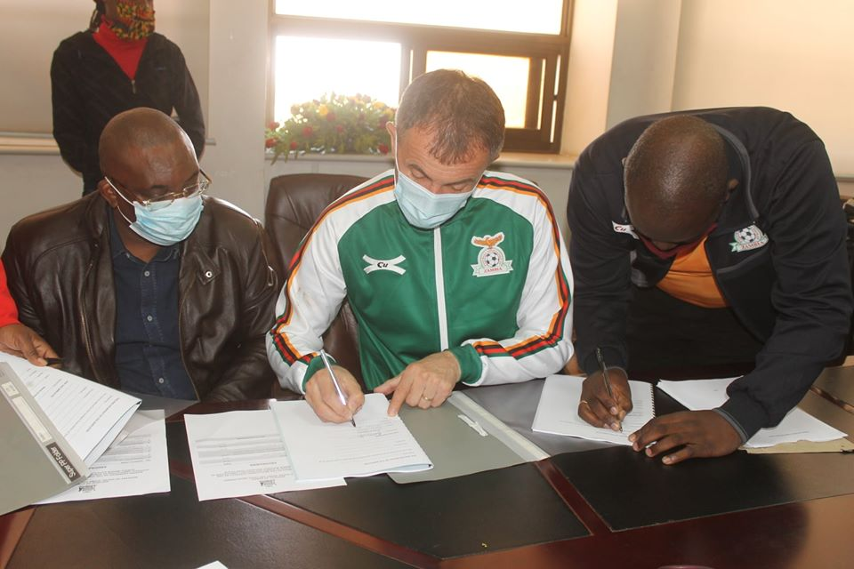 Micho finally signs contract with Zambia