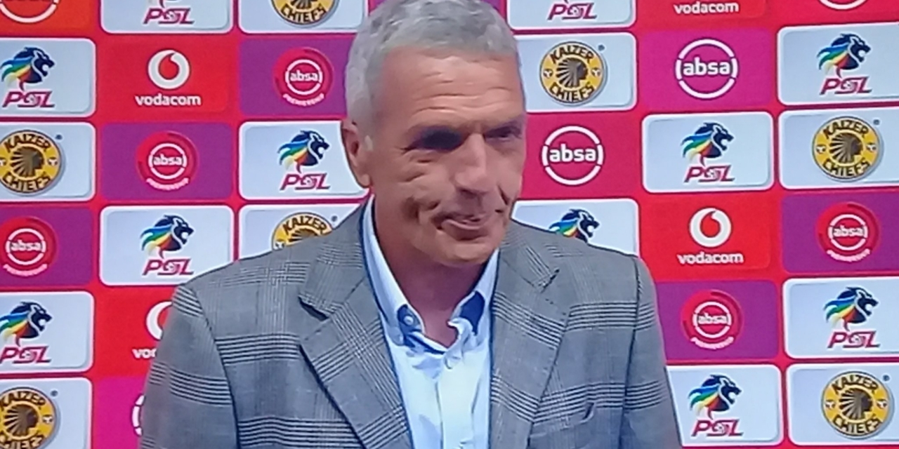Middendorp reacts to Kaizer Chiefs, Wits draw