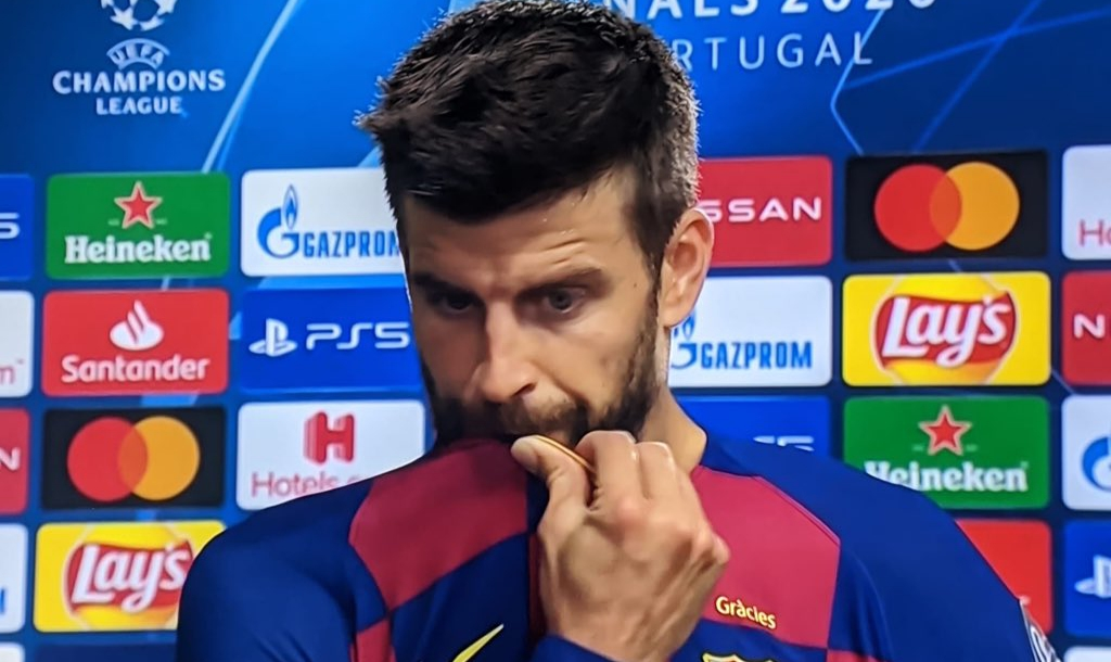 Tearful Pique offers to quit after embarassing defeat to Baryen