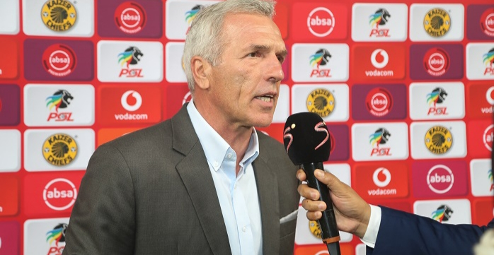 Middendorp breaks silence on Billiat's overall season at Chiefs