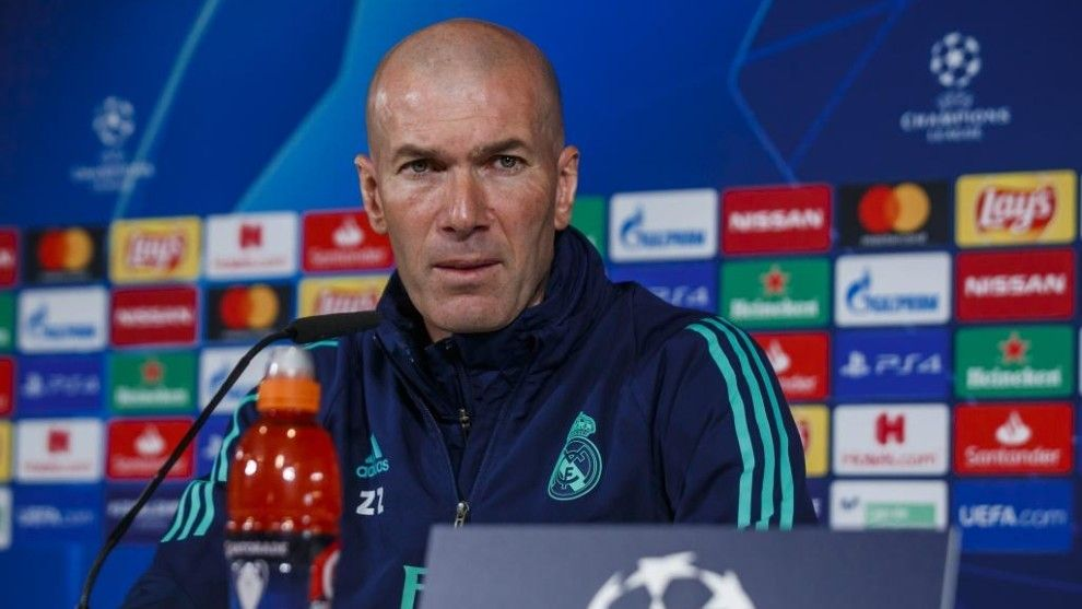 Zidane explains Bale omission for Man City clash