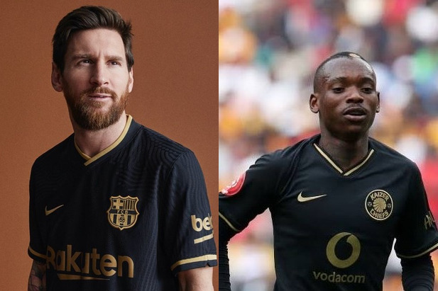 Kaizer Chiefs respond to Barca 'copying' their special edition jersey
