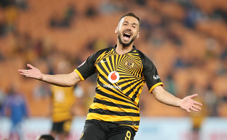 Watch: Nurkovic misses an open net in Kaizer Chiefs' loss to Wits