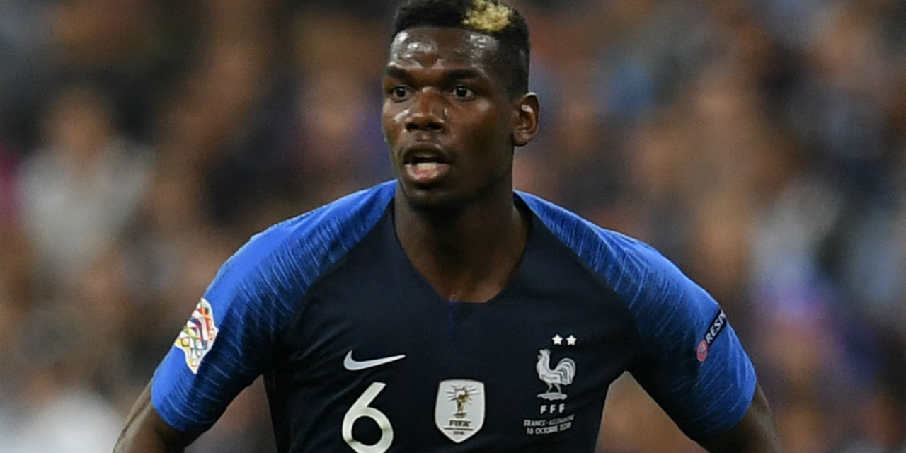 Pogba dropped from France squad after testing positive for coronavirus