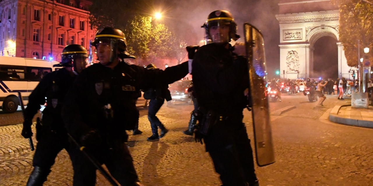 Dozens arrested as PSG fans clash with police after Champions League defeat