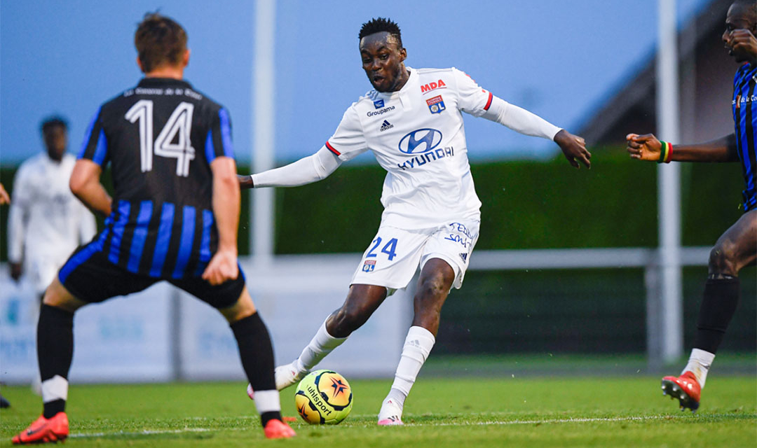 Official: Tinotenda Kadewere's competitive debut at Lyon delayed again