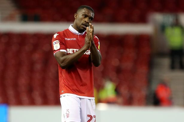 Nakamba dropped to the bench as Darikwa misses another Forest game