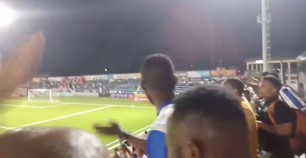 Watch: Azam FC fans chant Prince Dube's name on match day