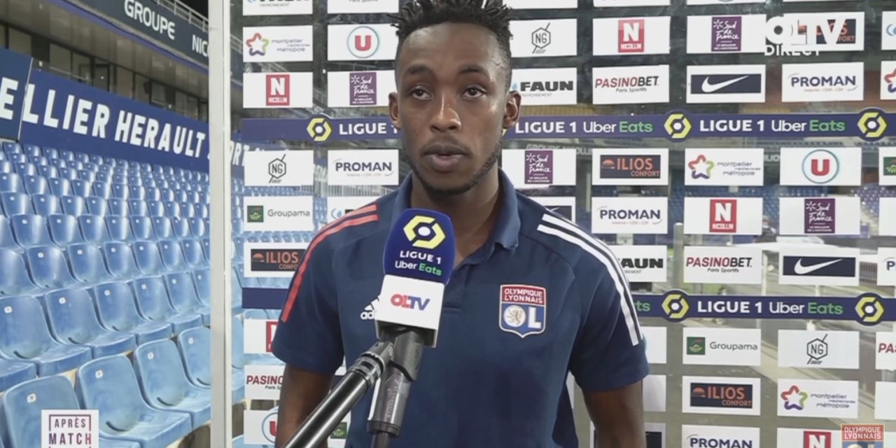 Kadewere reflects on first start for Lyon