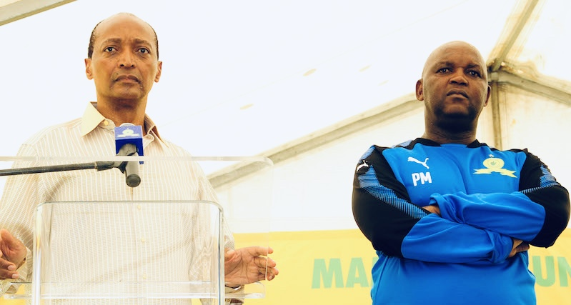 Motsepe reacts to Pitso Mosimane's shocking resignation