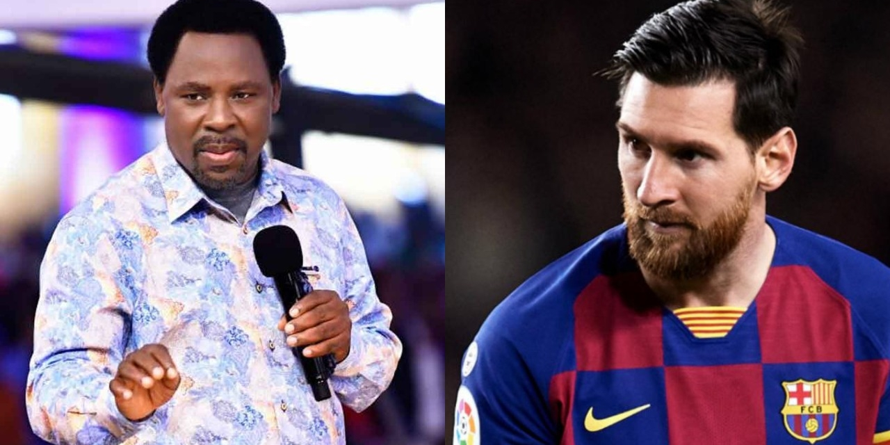 Nigerian prophet TB Joshua issues 'candid advice' to Lionel Messi